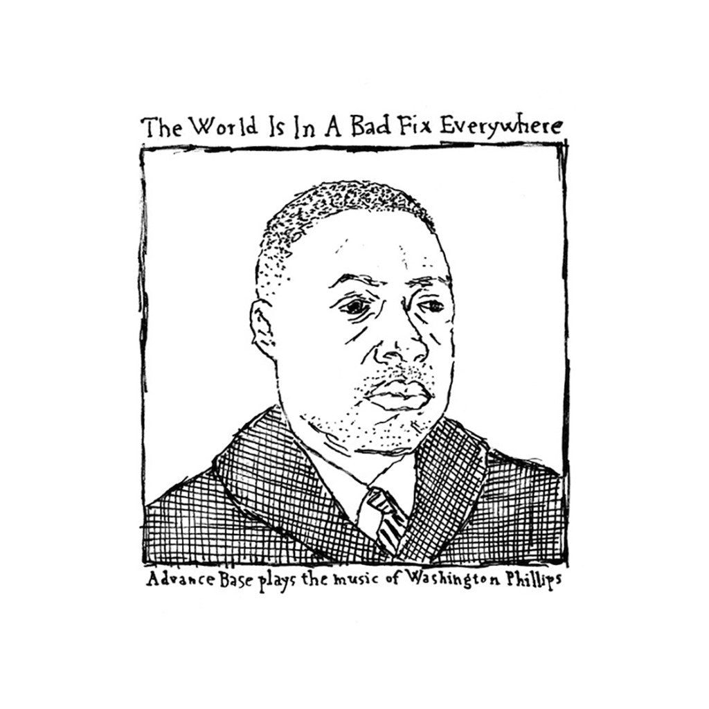 <!--120131001059628-->Advance Base - 'The World Is In A Bad Fix Everywhere EP' [CD]