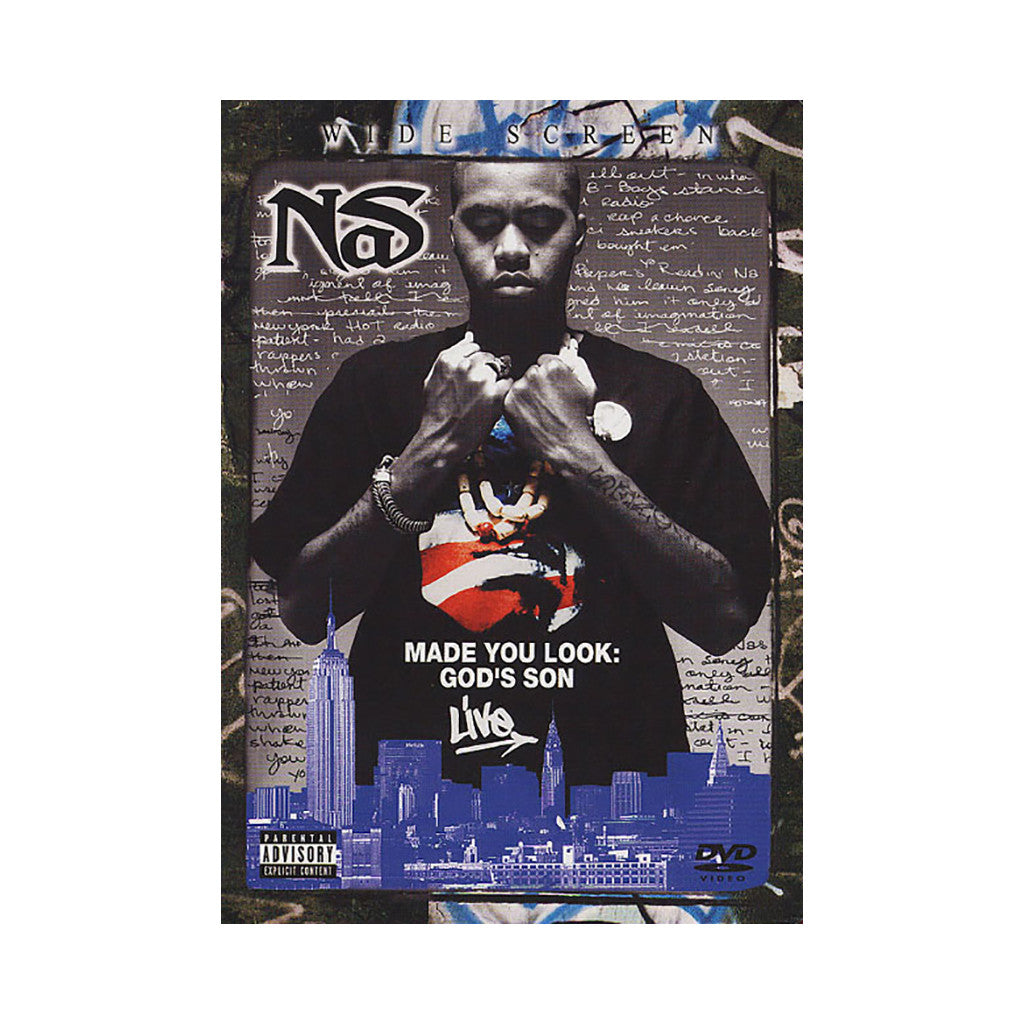 <!--020030101006630-->Nas - 'Made You Look: God's Son' [DVD]