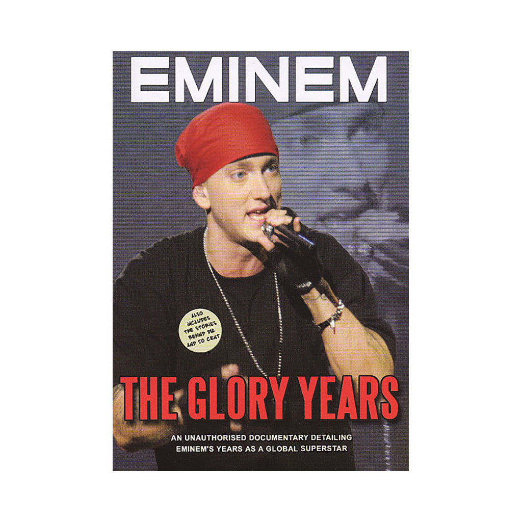 <!--020050719005444-->Eminem - 'The Glory Years (An Unauthorized Documentary Detailing Eminem's Years As A Global Superstar)' [DVD]