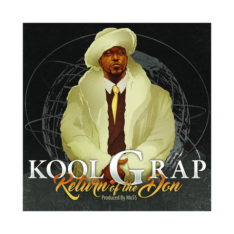Kool G Rap - 'Return Of The Don' [(Black) Vinyl LP]