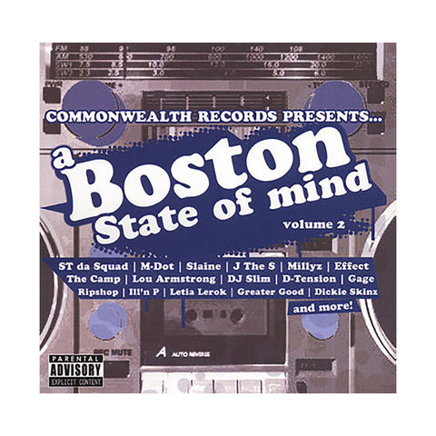 Various Artists - 'A Boston State Of Mind Vol. 2' [CD]
