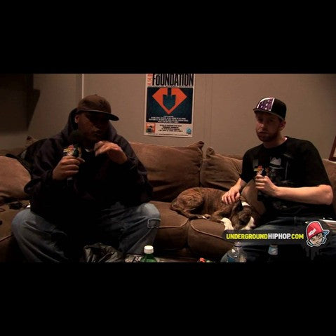 Craig G - 'Interview Pt. 1 (At DJ Dutchmaster's Crib - New York, NY - 4/4/09)' [Video]