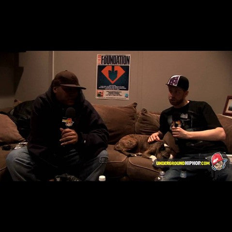 Craig G - 'Interview Pt. 2 (At DJ Dutchmaster's Crib - New York, NY - 4/4/09)' [Video]