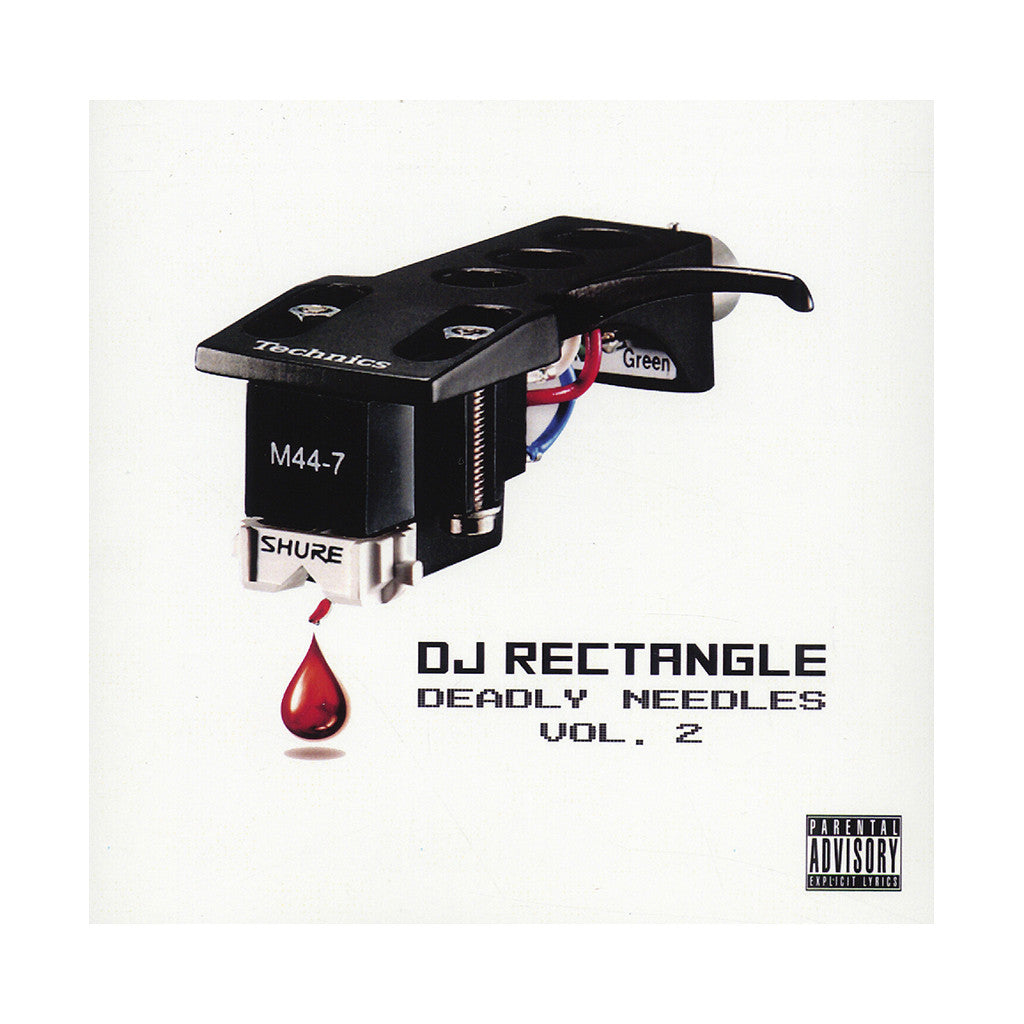 <!--2014032545-->DJ Rectangle - 'Deadly Needles Vol. 2' [CD]
