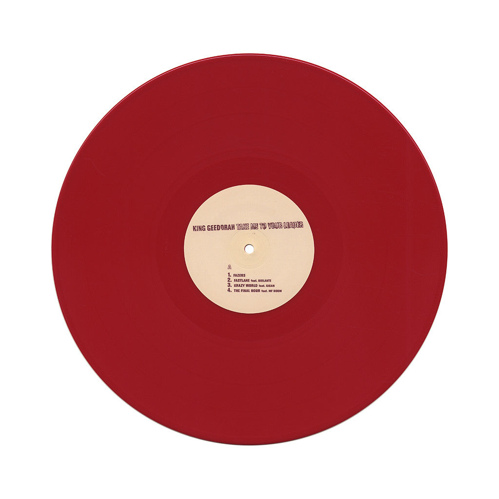 King Geedorah - 'Take Me To Your Leader' [(Red) Vinyl [2LP]]