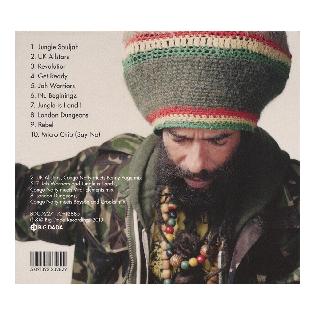 <!--2013070954-->Congo Natty - 'Jungle Revolution' [CD]