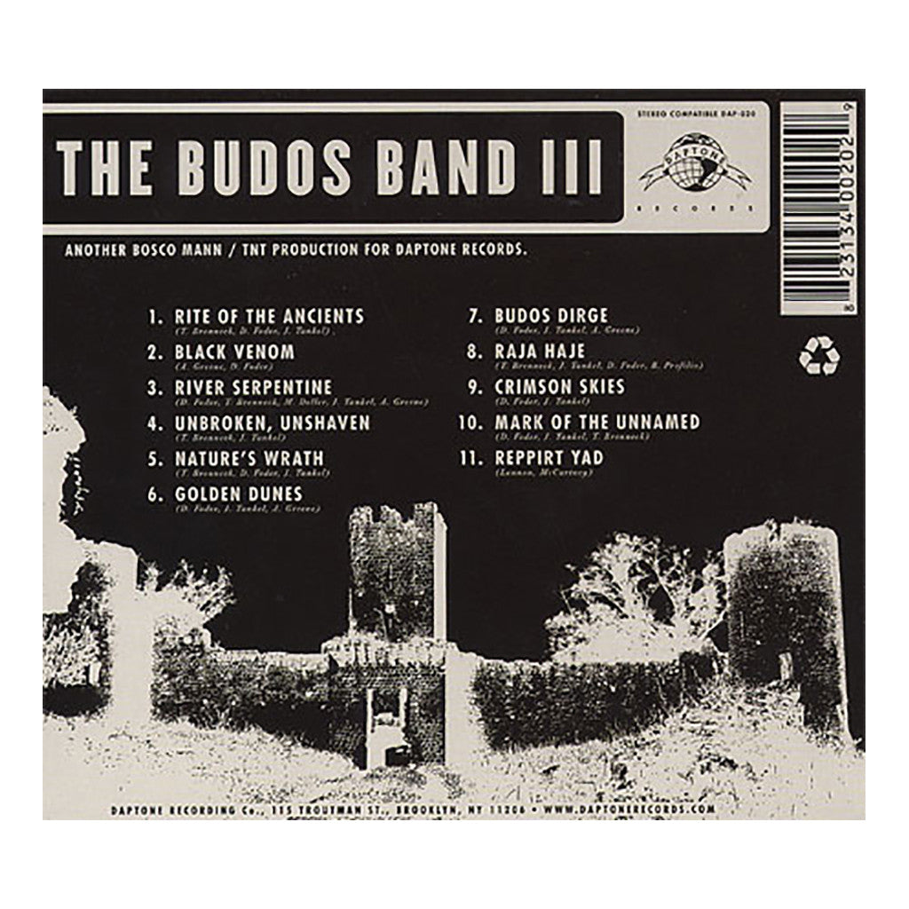 <!--2010081047-->The Budos Band - 'Budos Band III' [CD]