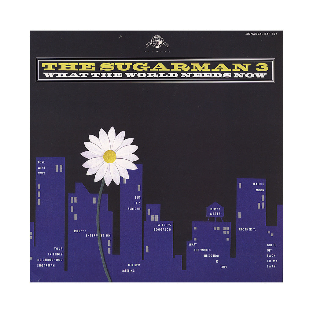 <!--120120515043923-->The Sugarman Three - 'What The World Needs Now' [CD]