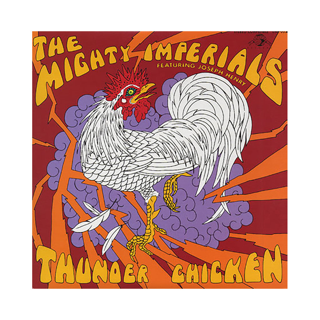 <!--020041102007054-->The Mighty Imperials w/ Joseph Henry - 'Thunder Chicken' [CD]