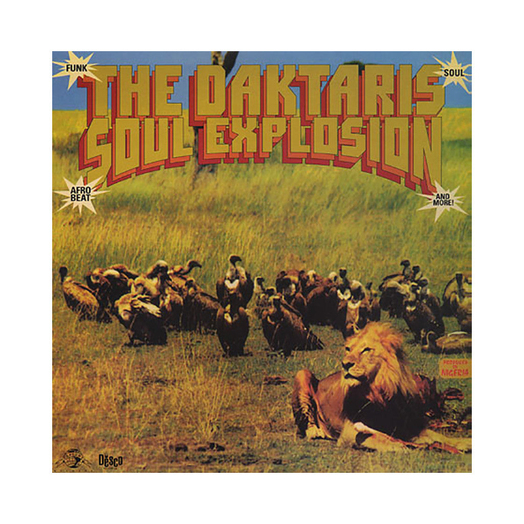<!--120060411006692-->The Daktaris - 'Soul Explosion' [CD]