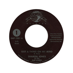 "<!--120010101011613-->Sharon Jones & The Dap-Kings - 'Got A Thing On My Mind' [(Black) 7"" Vinyl Single]"