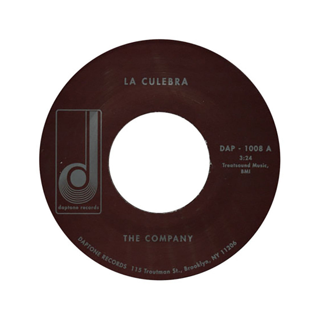 "<!--120020319007057-->The Company - 'La Culebra/ La Culebra Pt. II' [(Black) 7"""" Vinyl Single]"