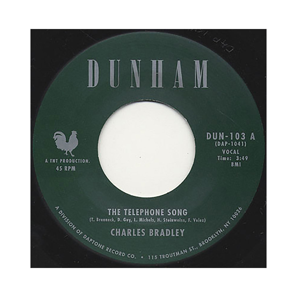 "Charles Bradley b/w Menahan Street Band - 'The Telephone Song b/w Tired Of Fighting' [(Black) 7"" Vinyl Single]"