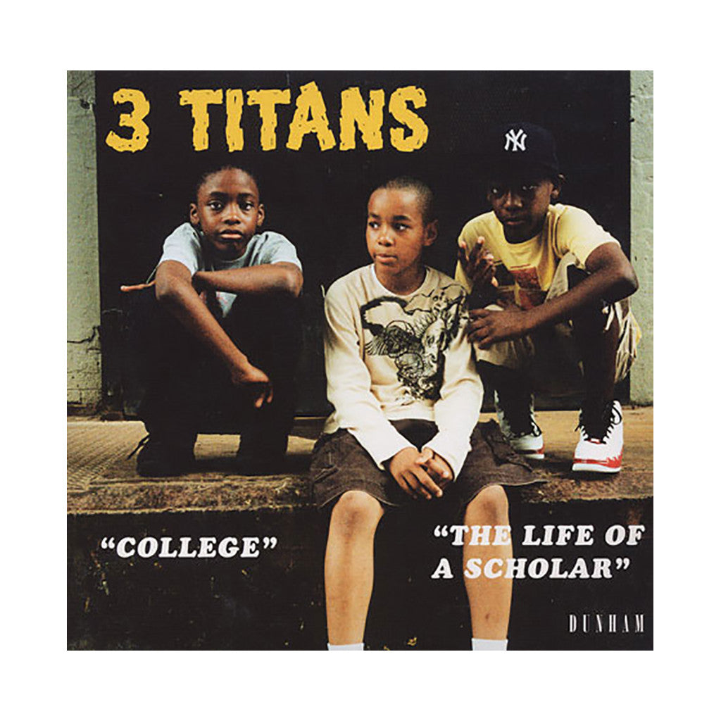 "3 Titans - 'College/ The Life Of A Scholar' [(Black) 7"" Vinyl Single]"