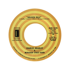 "Charles Bradley & Menahan Street Band - 'No Time For Dreaming/ Golden Rule' [(Black) 7"" Vinyl Single]"
