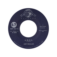 "<!--120120911048412-->Antibalas - 'Dirty Money/ A.W.O.L.' [(Black) 7"" Vinyl Single]"