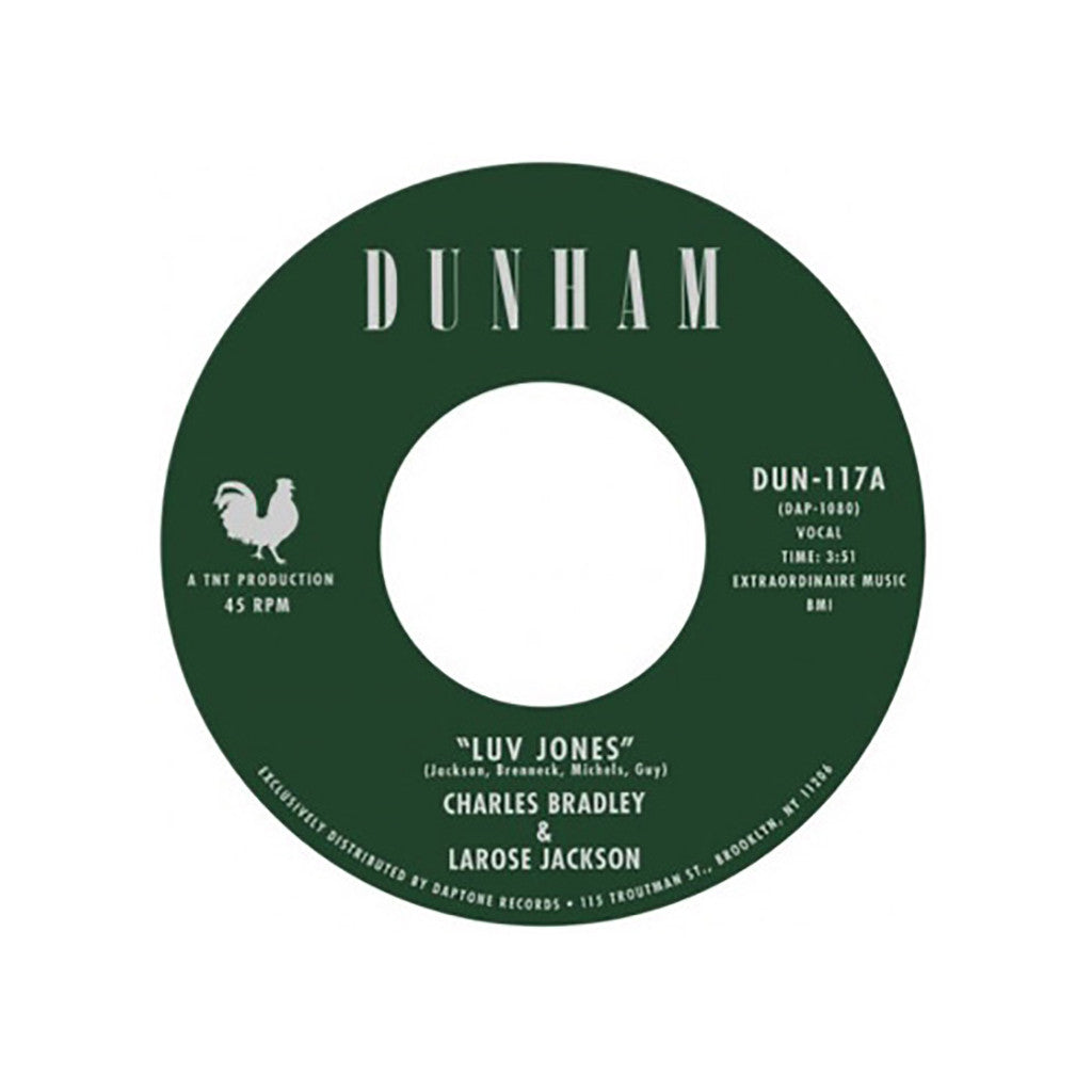 "<!--120140617064320-->Charles Bradley & LaRose Jackson - 'Luv Jones/ Change Change Change' [(Black) 7"" Vinyl Single]"