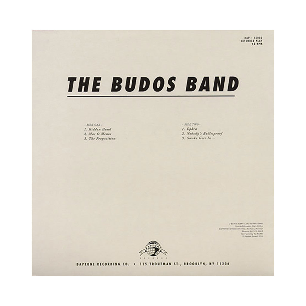 The Budos Band - 'The Budos Band EP' [(Black) Vinyl EP]