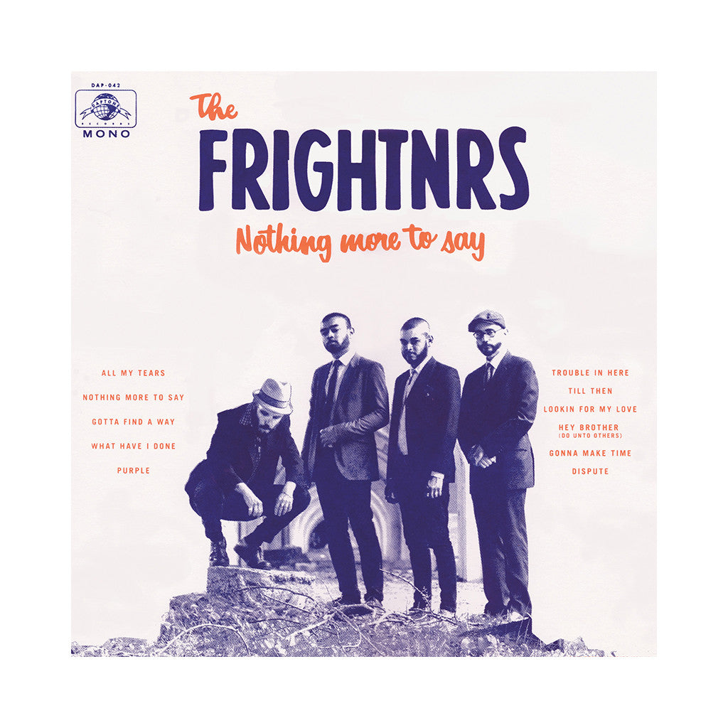 The Frightnrs - 'Nothing More To Say' [CD]
