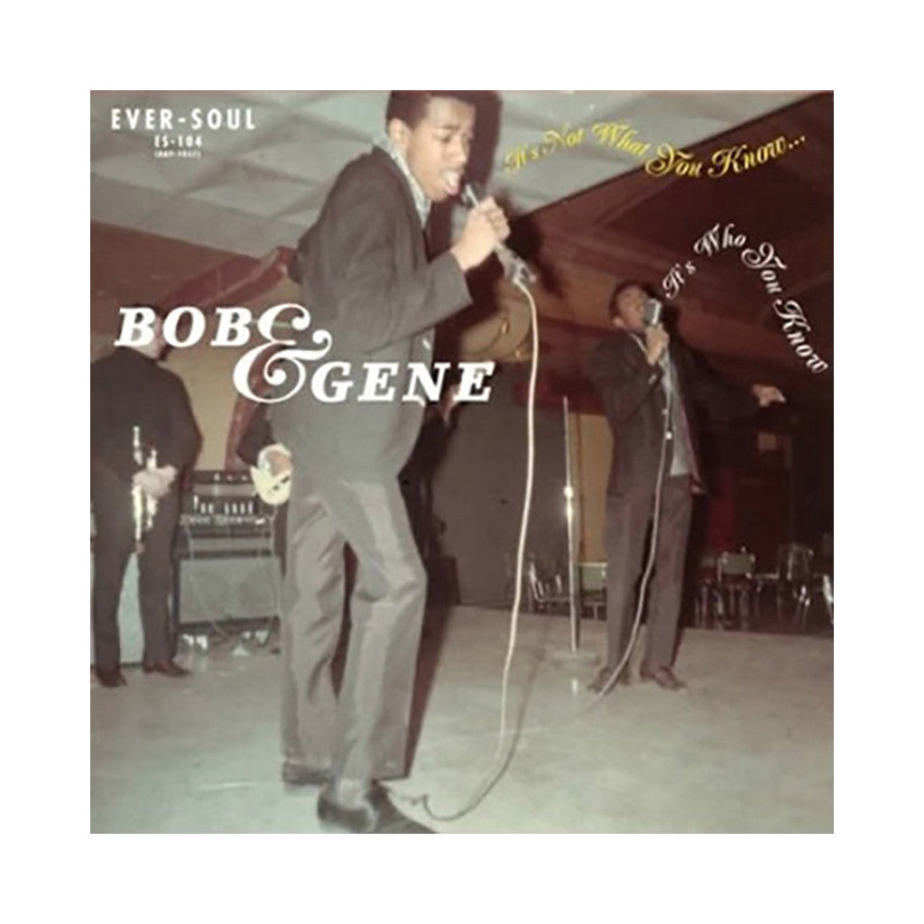 "<!--020110830004451-->Bob & Gene - 'It's Not What You Know (It's Who You Know)/ These Lonely Nights' [(Black) 7"" Vinyl Single]"