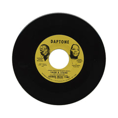 "<!--020140325062648-->Saun & Starr - 'Hot Shot/ Gonna Make Time' [(Black) 7"" Vinyl Single]"
