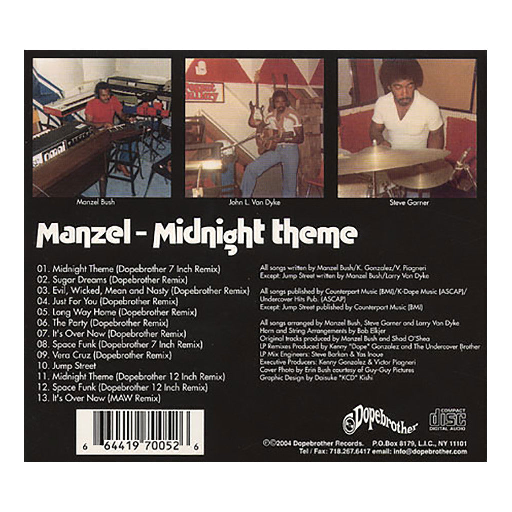 Manzel - 'Midnight Theme' [CD [2CD]]