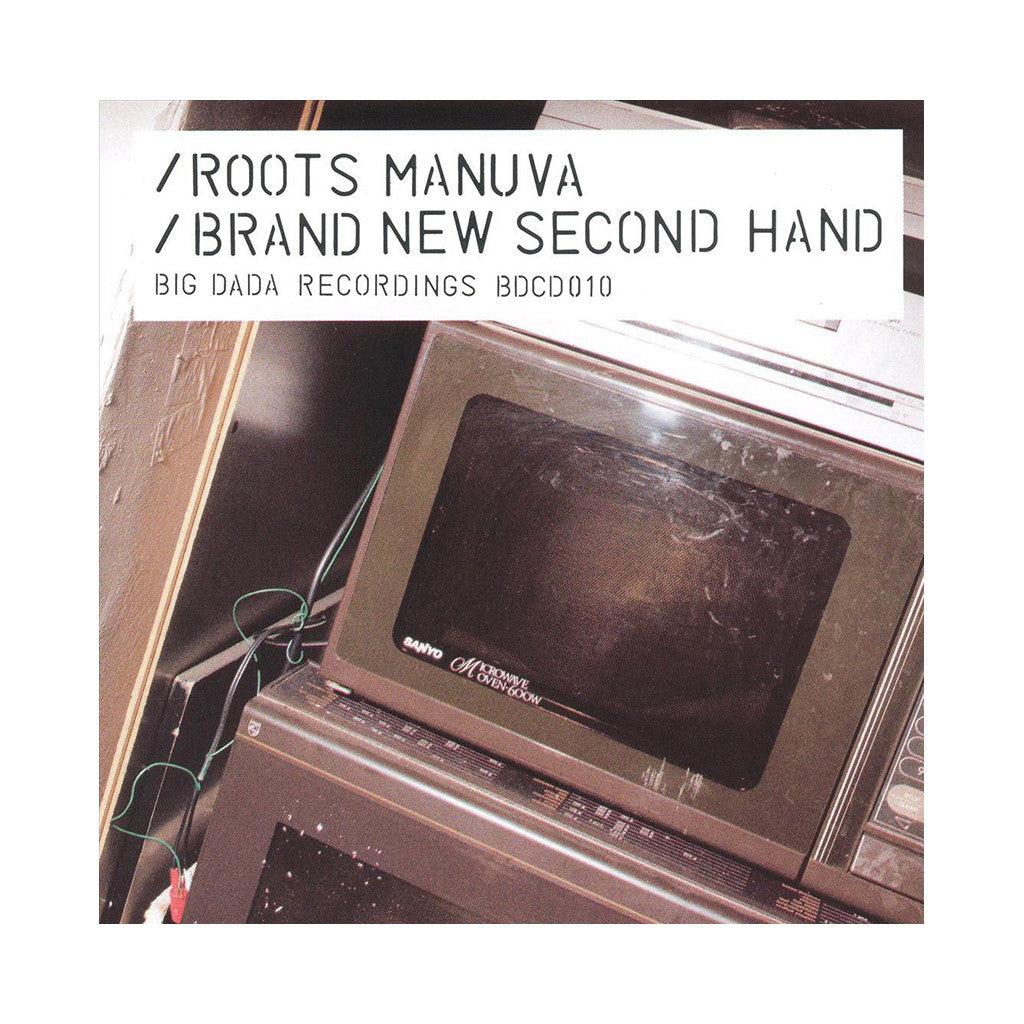 <!--119990323005181-->Roots Manuva - 'Brand New Second Hand' [CD]