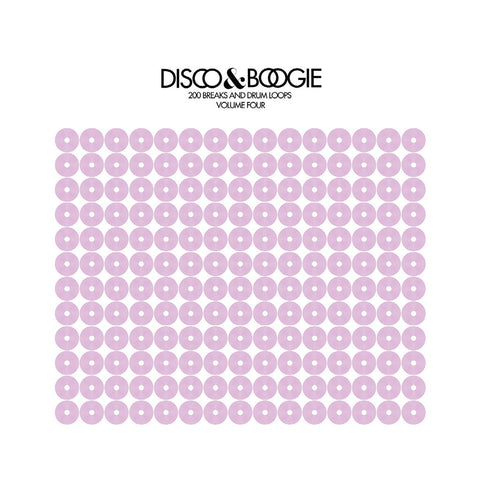 Various Artists - 'Disco & Boogie: 200 Breaks And Drum Loops, Vol. 4' [(Black) Vinyl LP]