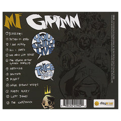 <!--120100608021239-->M.F. Grimm - 'You Only Live Twice: The Audio Graphic Novel' [CD]