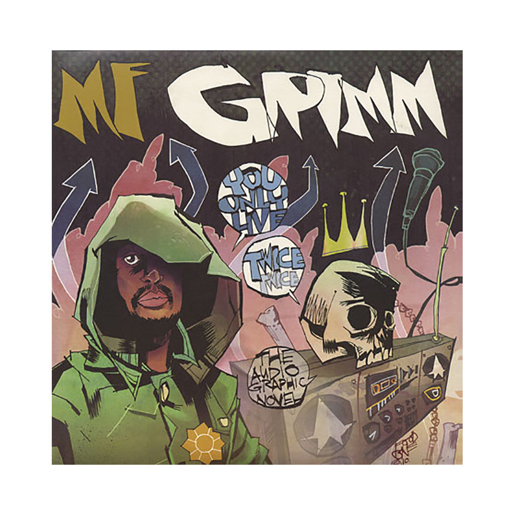<!--120100928023128-->M.F. Grimm - 'You Only Live Twice: The Audio Graphic Novel' [(Black) Vinyl [2LP]]
