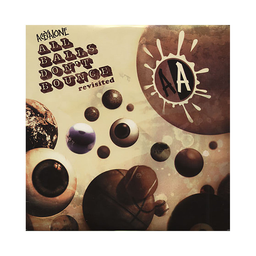 Aceyalone - 'All Balls Don't Bounce - Revisited' [(Black) Vinyl [2LP]]