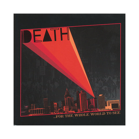 "[""Death - '...For The Whole World To See' [CD]""]"