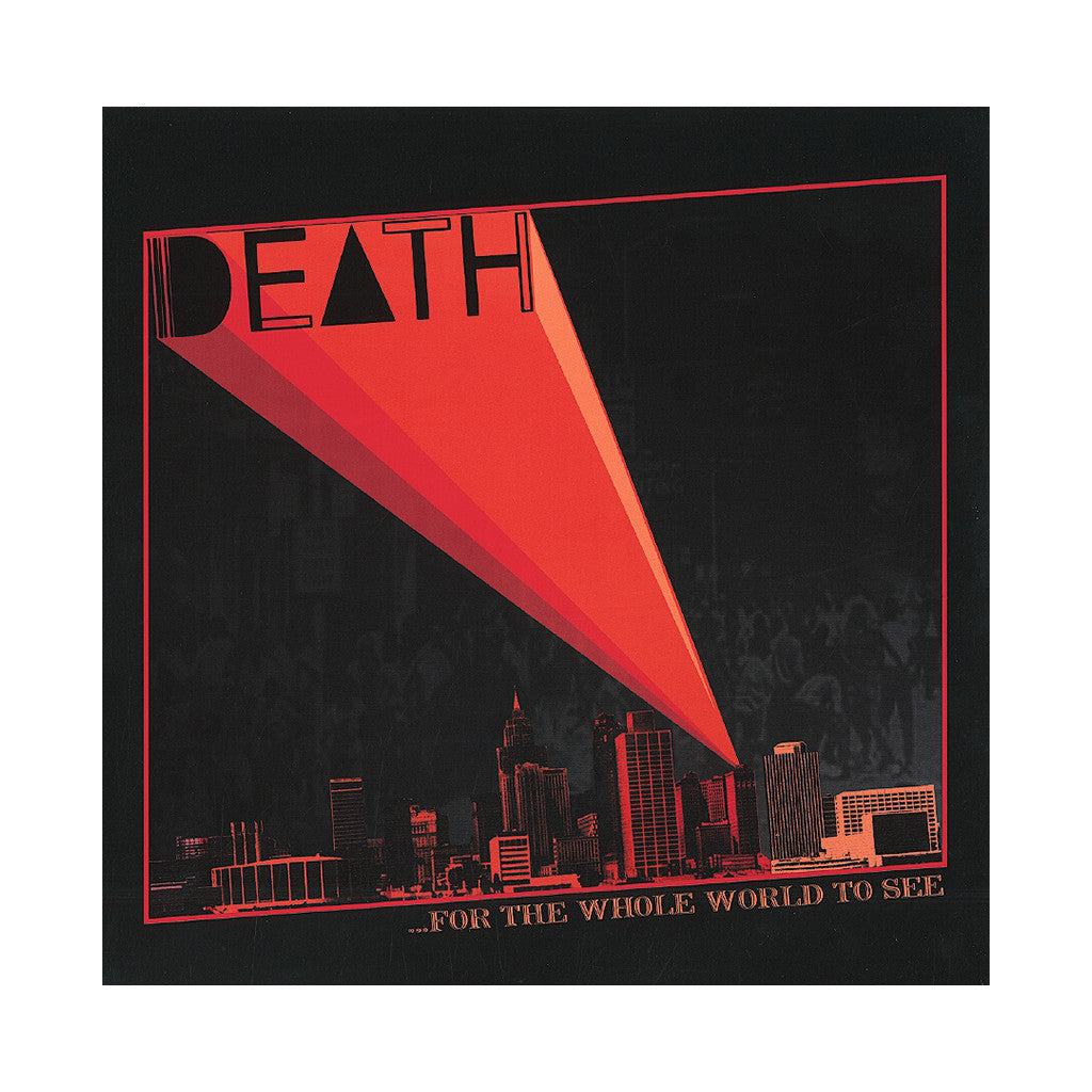 Death - '...For The Whole World To See' [(Black) Vinyl LP]