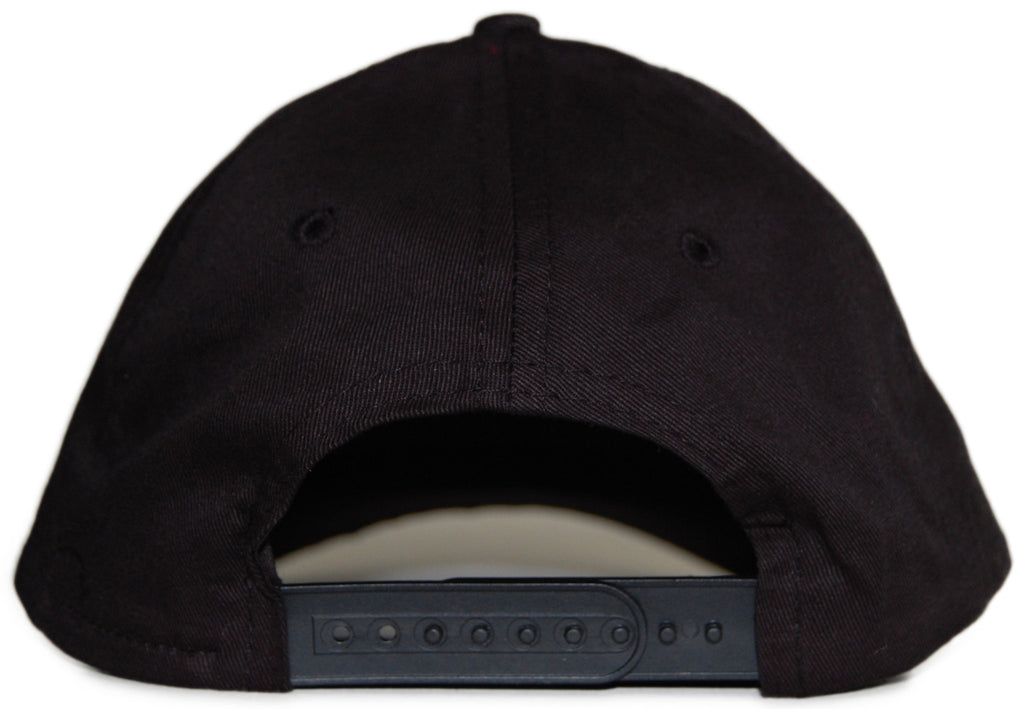 <!--020120117040844-->Delicious Vinyl - 'DV' [(Black) Snap Back Hat]