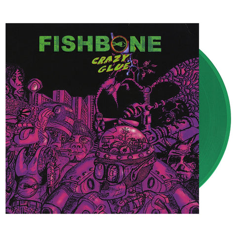 "[""Fishbone - 'Crazy Glue' [(Clear Green) Vinyl LP]""]"
