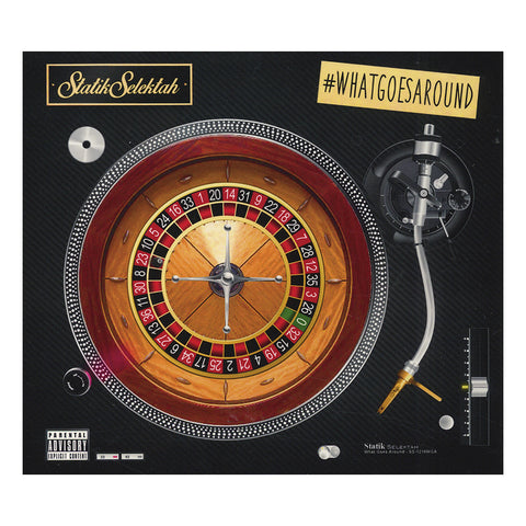 Statik Selektah - 'What Goes Around (#WhatGoesAround)' [CD]