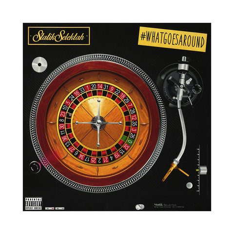 Statik Selektah - 'What Goes Around (#WhatGoesAround)' [(Black) Vinyl [2LP]]