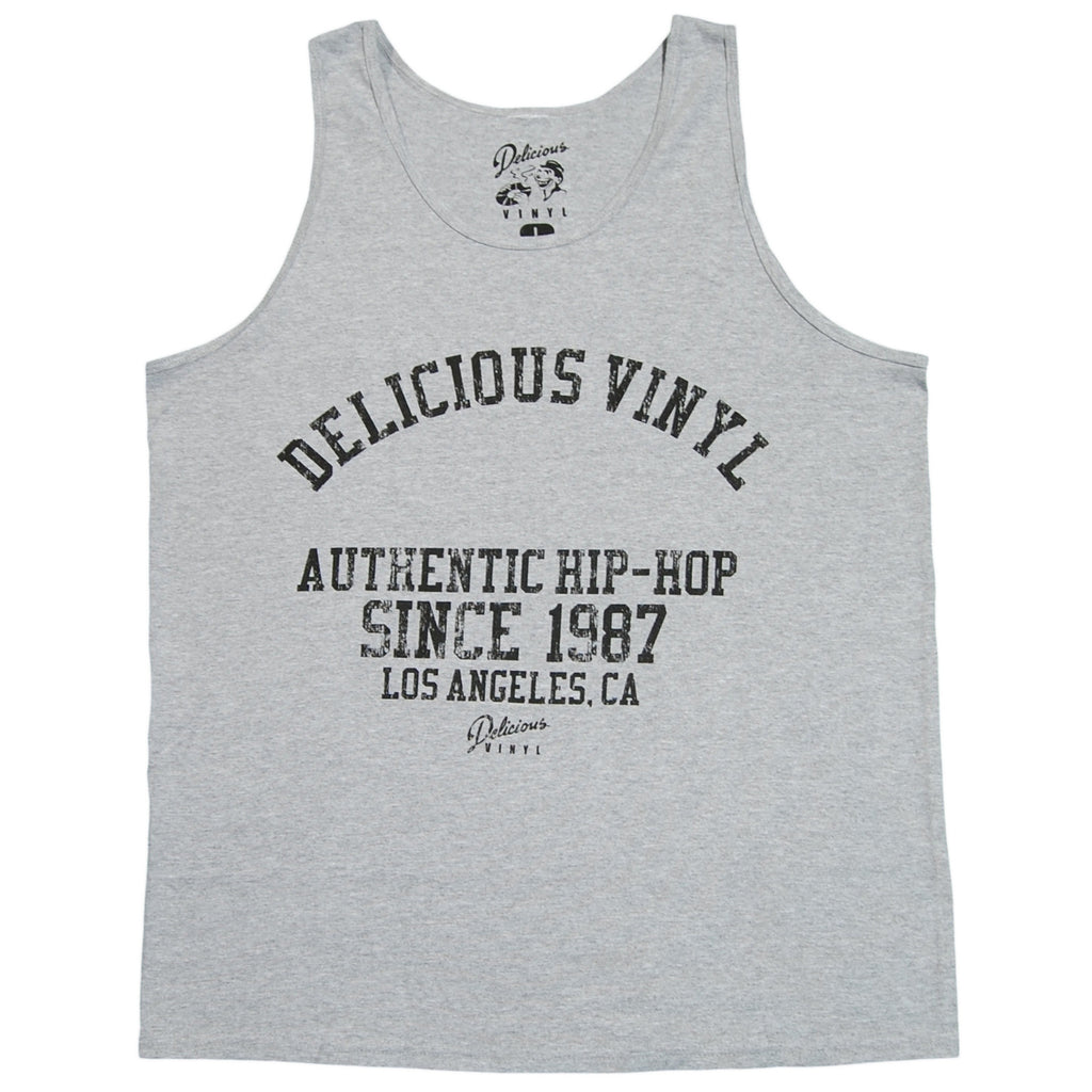 <!--2012082807-->Delicious Vinyl - 'DV Athletic 87' [(Gray) Tank Top]