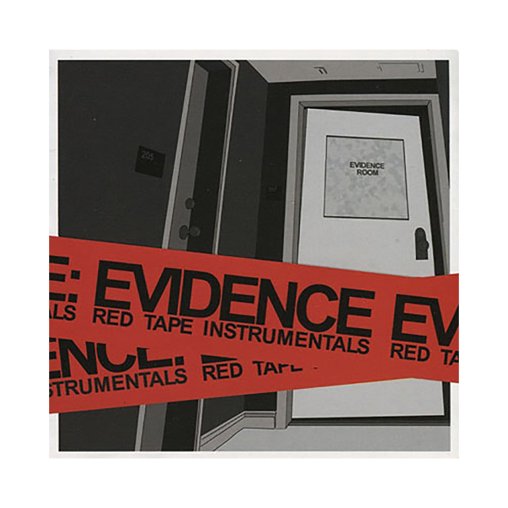 <!--120070605009622-->Evidence - 'Red Tape (Instrumentals)' [CD]