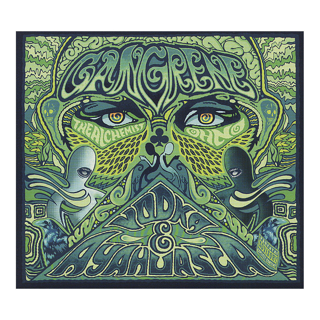 <!--2012012424-->Gangrene - 'Vodka & Ayahuasca' [CD]