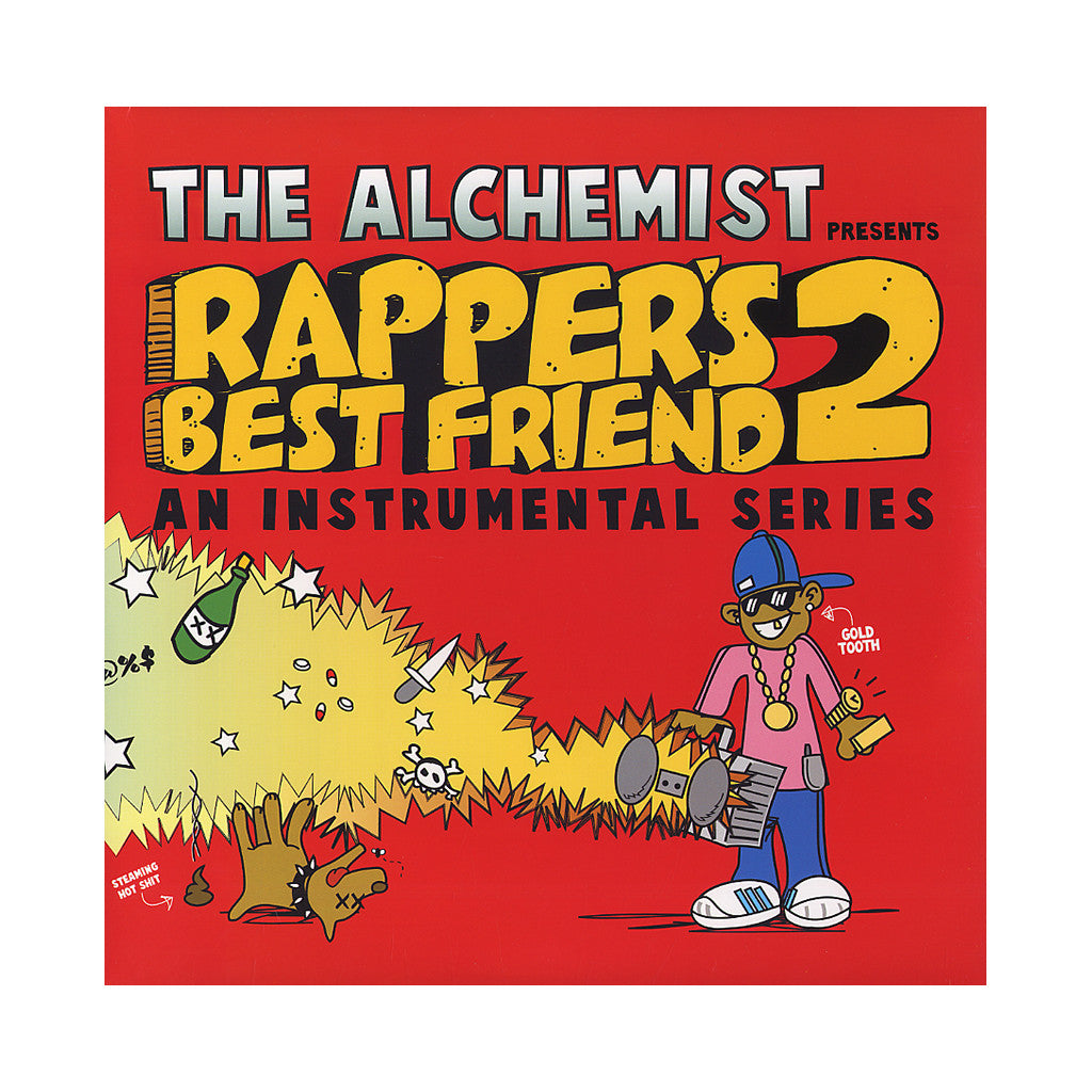 The Alchemist - 'Rapper's Best Friend 2' [(Black) Vinyl [2LP]]