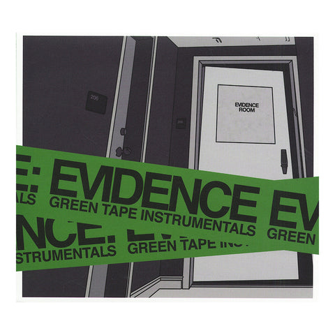 Evidence - 'Green Tape (Instrumentals)' [CD]