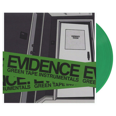 Evidence - 'Green Tape (Instrumentals)' [(Clear Green) Vinyl LP]