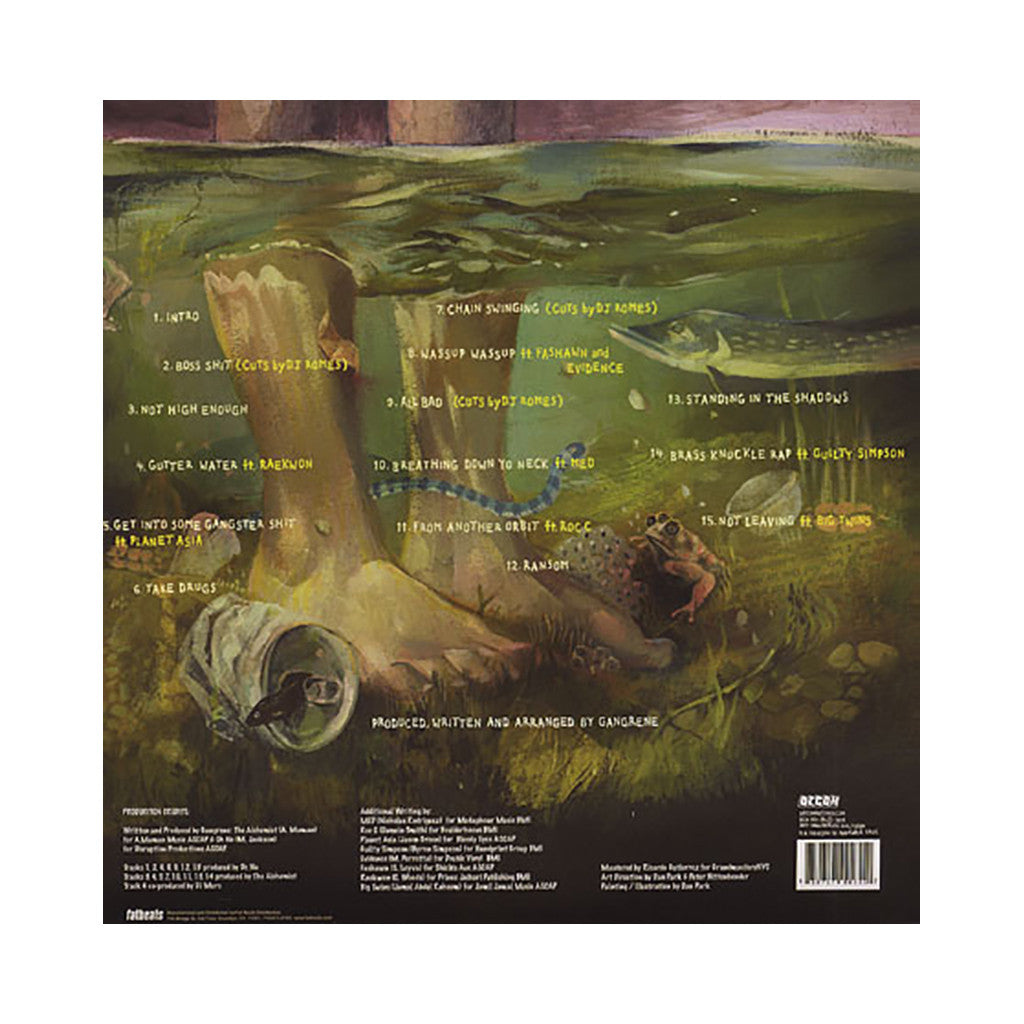 Gangrene - 'Gutter Water' [(Green) Vinyl [2LP]]