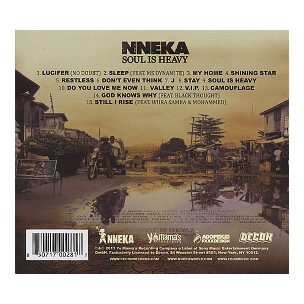 <!--120120228040711-->Nneka - 'Soul Is Heavy' [CD]
