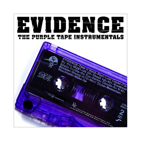 Evidence - 'Purple Tape (Instrumentals)' [CD]