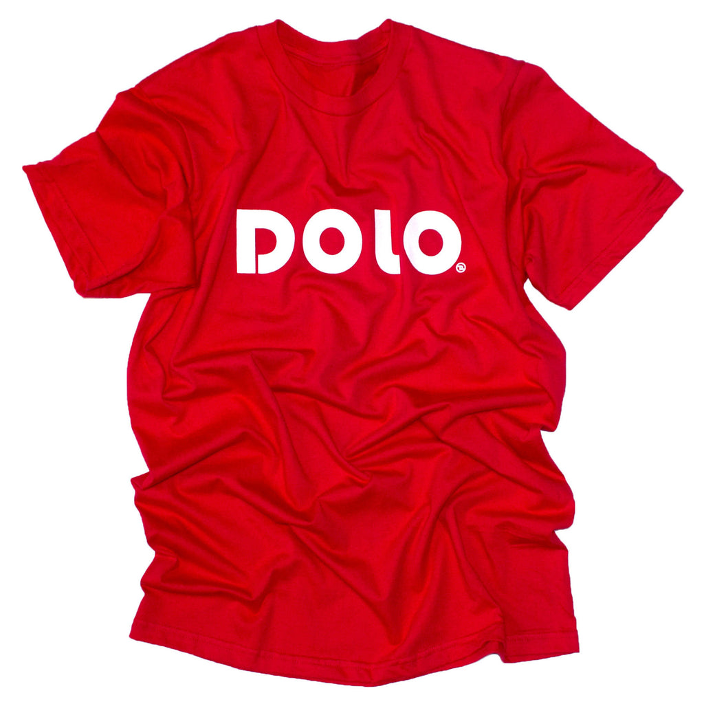 <!--2014043033-->Dolo Clothing - 'Dolo Signature' [(Red) T-Shirt]