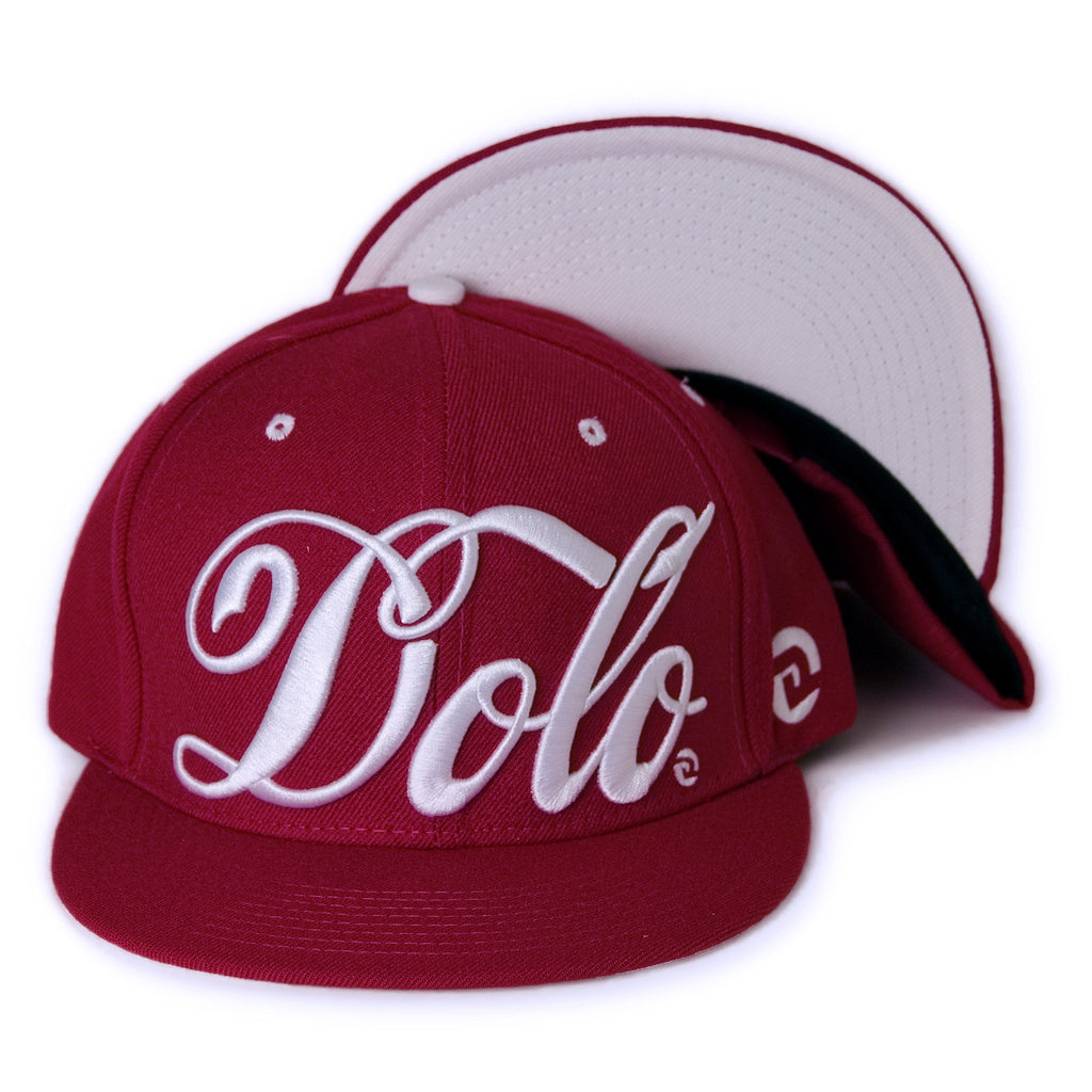 <!--020131205062077-->Dolo Clothing - 'Classic Flava' [(Red) Snap Back Hat]