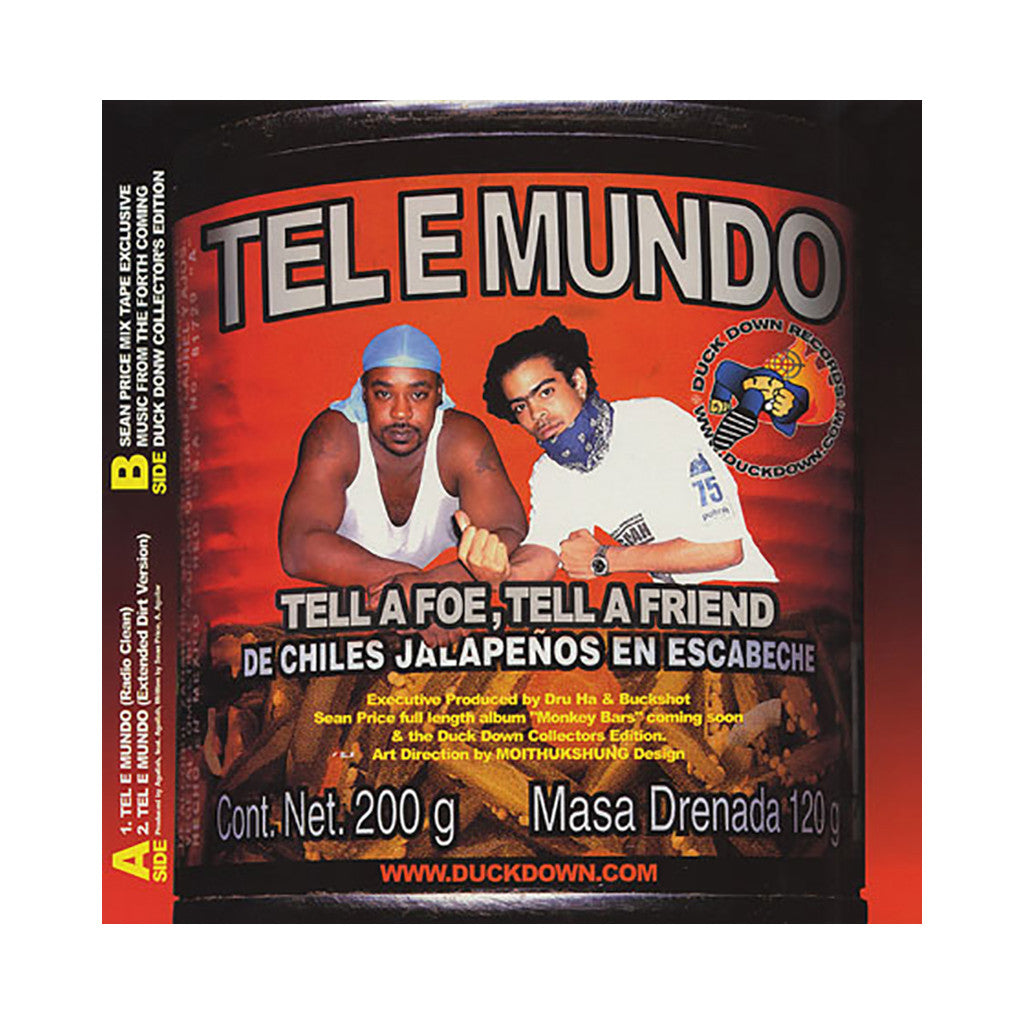 "<!--020020115001293-->Sean Price - 'Tel E Mundo' [(Black) 12"" Vinyl Single]"