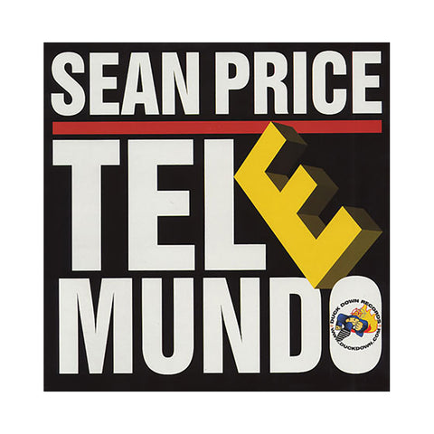 "Sean Price - 'Tel E Mundo' [(Black) 12"" Vinyl Single]"